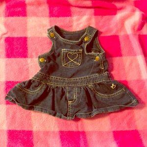 Girls dress overalls